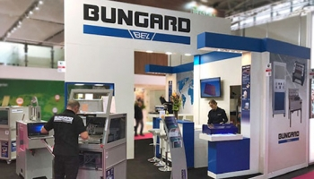 Bungard fineline machines at the Electronica 2018