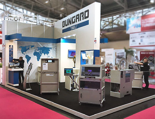 Bungard - Messestand Electronica 2018