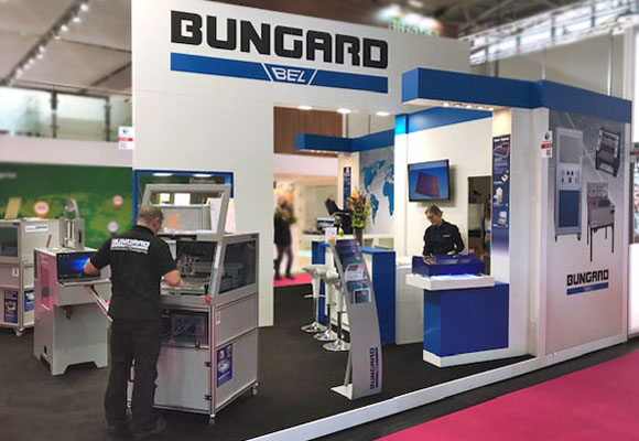 BUNGARD Messestand 2018