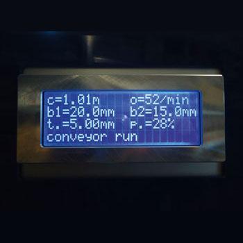 Bungard  RBM 402 Brushing Machine Display