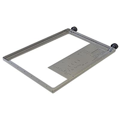 Stencil holder frame