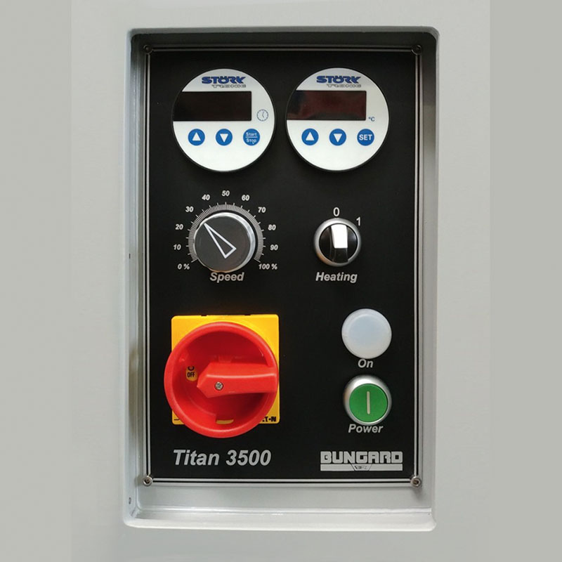 Titan 3500 - Digital-timer for etching pump